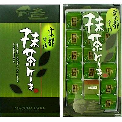 丸三 京都宇治抹茶風味蛋糕禮盒(144g)