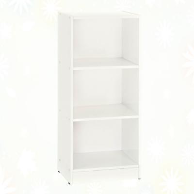 文創集 希莉 環保1.4尺南亞塑鋼開放三格置物櫃/收納櫃-43.4x33.7x113cm免組