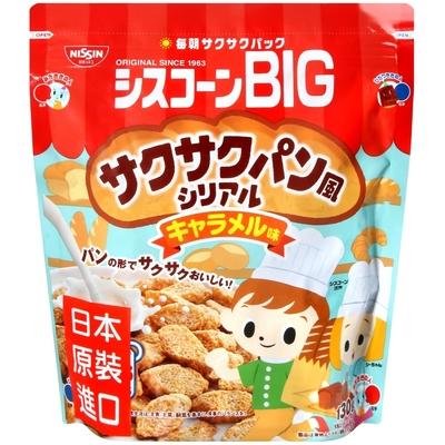 NISSIN BIG酥脆早餐餅-焦糖風味(130g)