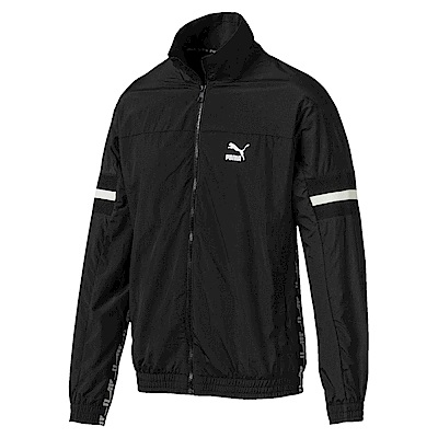 PUMA-男性流行系列XTG立領風衣外套-黑色-歐規