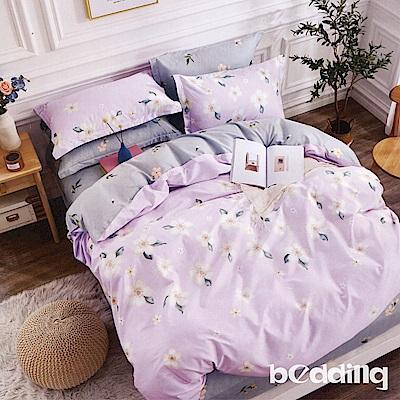 BEDDING-100%棉6尺加大雙人薄式床包三件組-朵雨