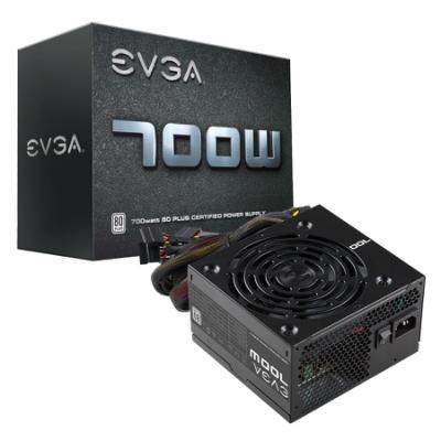 EVGA 艾維克 W1 700W 電源供應器 入門首選 三年保固