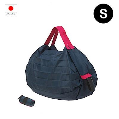 【日本Marna】Shupatto 秒收摺疊環保袋 (S) | 藍