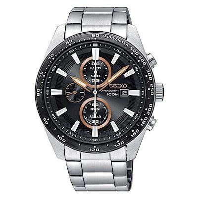 SEIKO 精工 CRITERIA登躍極致太陽能運動腕錶/SSC649P1/V176-0A