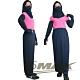 OMAX透氣防曬袖套 +防曬裙+護頸口罩(3件組合)-藍色-快 product thumbnail 1