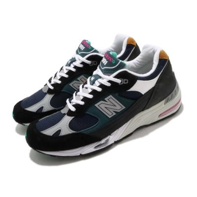 New Balance 休閒鞋 991 復古 男鞋 紐巴倫 經典款 球鞋 穿搭 黑 綠 M991MMD