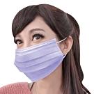 台灣康匠 三層不織布口罩(50個x4盒)-紫色