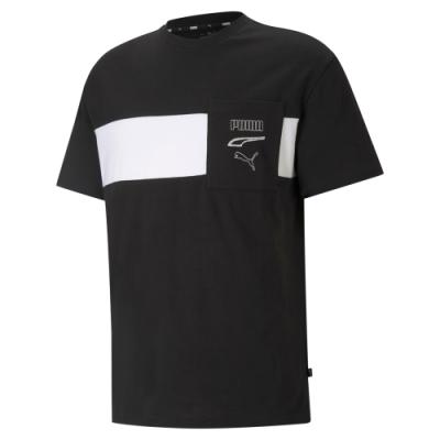 【PUMA官方旗艦】基本系列Rebel短袖T恤 男性 58585201