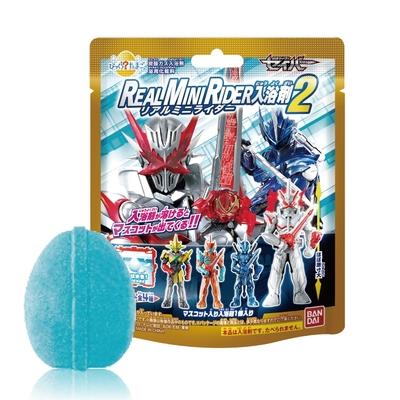 日本Bandai-假面騎士聖刃REAL MINI RIDER入浴球Ⅱ(泡澡球)5入(3Y+/汽水香味/沐浴球/洗澡玩具)