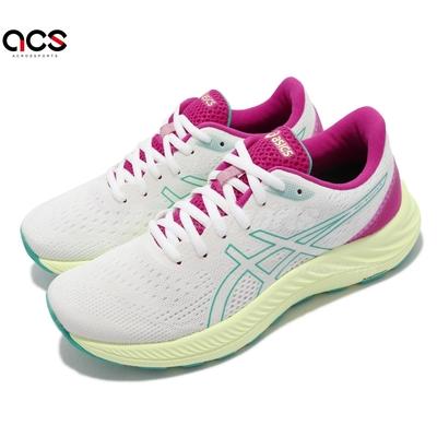 Asics 慢跑鞋 GEL Excite 8 運動休閒 女鞋 亞瑟士 支撐 輕量 緩衝 亞瑟膠 白 綠 1012A916100