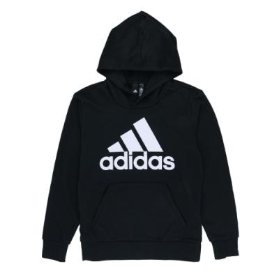 ADIDAS ESS LIN P/O FT 男連帽上衣-CW3861