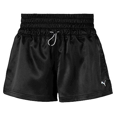 PUMA-女性訓練系列On the Brink短褲-黑色-歐規