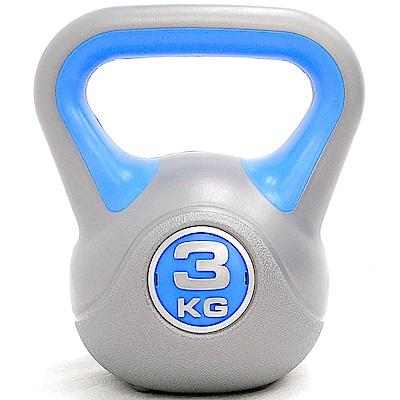 重力3KG壺鈴 3公斤壺鈴 6.6磅拉環啞鈴