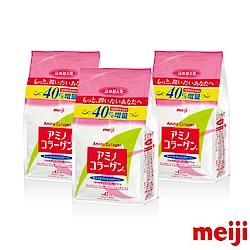明治 膠原蛋白粉-補充包42天份 3件組(300g/