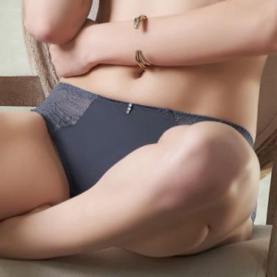 推U&Z EASY SHOP-唯愛主義 中腰平口褲(灰霧紫)