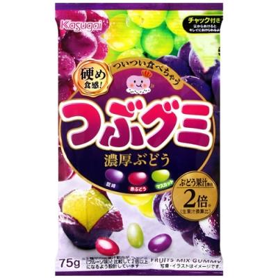 春日井 雷根軟糖葡萄風味 (75g)