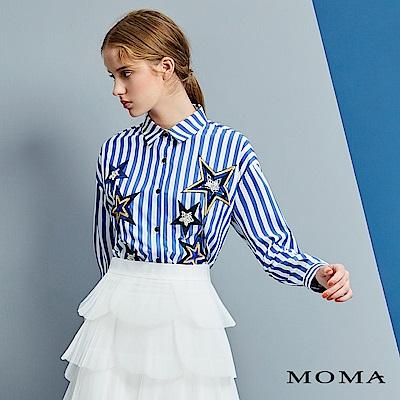 MOMA 五角星條紋襯衫