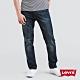 Levis 男款 上寬下窄 502 Taper牛仔褲 深藍刷黃 仿舊紙標 彈性布料 product thumbnail 2