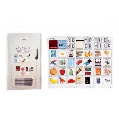 西班牙Londji 購物清單冰箱磁鐵組