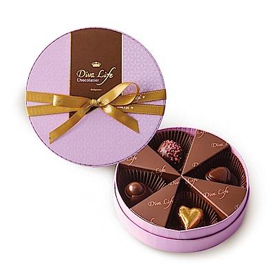 Diva Life 花漾圓夢巧克力禮盒-莓果盛宴(比利時夾心巧克力)