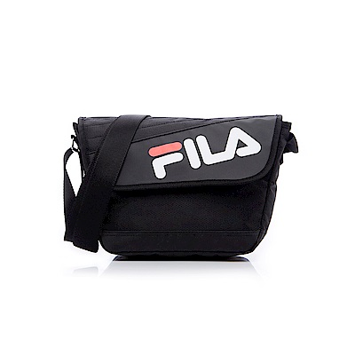 FILA 小型斜肩包-黑 BMS-5202-BK