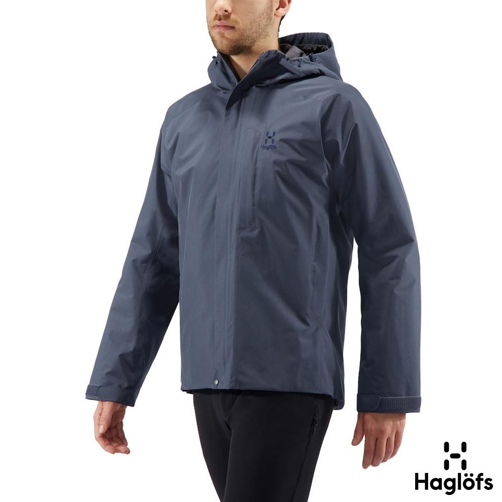 季末降價↘Haglofs 男 Stratus GT 防水 保暖 透氣 化纖外套 濃厚藍