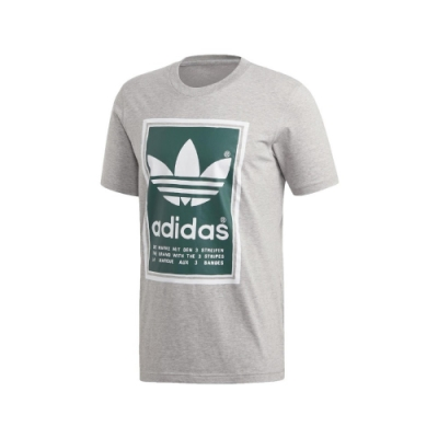 adidas T恤 Filled Label 運動 休閒 男款