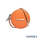 PEPPER'S Ellie 羊皮圓形零錢包 - 艷陽橘