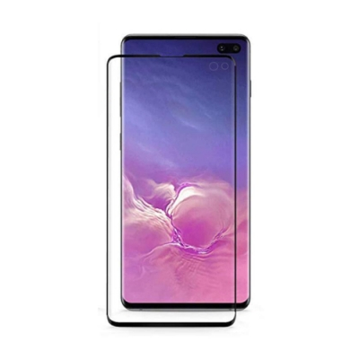 QinD SAMSUNG Galaxy S10+ 熱彎滿版保護貼(非玻璃)