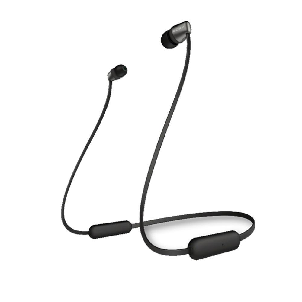 SONY 無線藍牙入耳式耳機 WI-C200 黑色