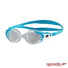 SPEEDO 成人運動泳鏡 Futura Biofuse 透明藍