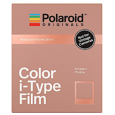 Polaroid Color Film for i-Type 彩色底片(玫瑰金框)/2盒