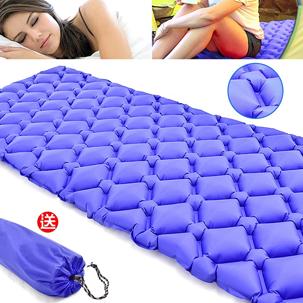 超輕量蛋巢式充氣墊(送收納袋)   蛋槽帳篷充氣睡墊