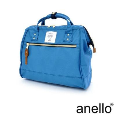 anello 輕便型波士頓 兩用手提斜背包 藍色  L