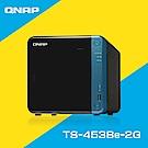 QNAP 威聯通 TS-453Be-2G 4Bay 網路儲存+10TB*2超值組