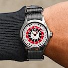 TIMEX x TODD SNYDER聯名限量MOD 摩登輪盤手錶-灰銀/40mm