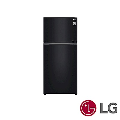 LG 525公升黑色直驅變頻上下門冰箱GN-HL567GB