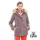 【Lynx Golf】女款防風防水透氣保暖Gore-Tex兩件式長袖外套-藕灰色 product thumbnail 2