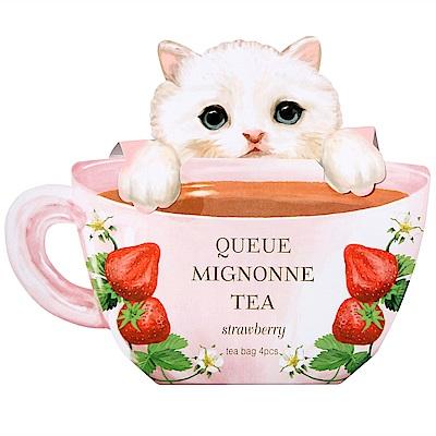 CHARLEY 淘氣貓紅茶-草莓風味(8g)