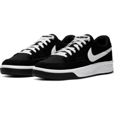 NIKE 休閒鞋 運動鞋 滑板鞋 麂皮 休閒 男鞋 黑白 CW7456001 SB ADVERSARY PRM