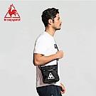 le coq sportif 法國公雞牌簡潔LOGO小型跨肩包 黑
