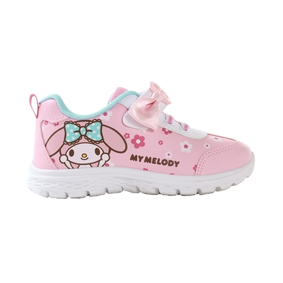 魔法Baby 中大女童鞋 台灣製美樂蒂卡通授權正版大女孩運動鞋 ~sk1233
