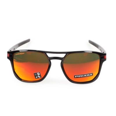 OAKLEY LATCH BETA 一般太陽眼鏡附鏡袋 黑紅