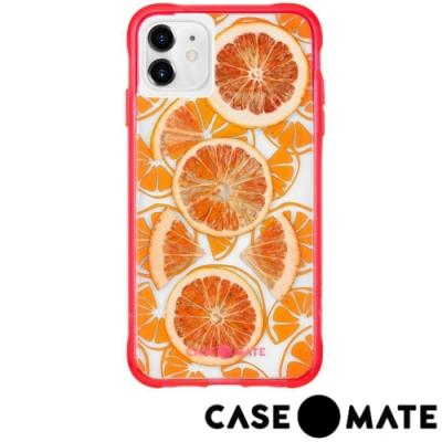 美國 Case●Mate iPhone 11 防摔手機保護殼真水果限定款-新鮮柑橘