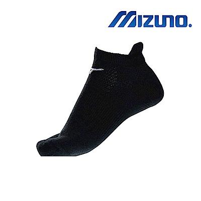 MIZUNO 女運動厚底踝襪 5入 黑 32TX931309