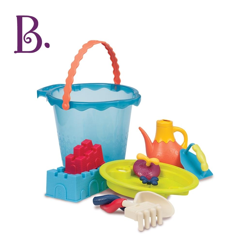 美國【B.Toys】沙趣多很多(海洋藍)