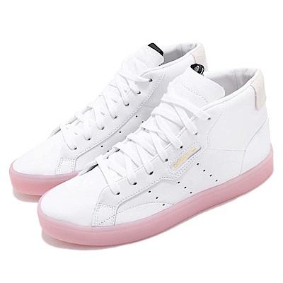 adidas 休閒鞋 Sleek Mid 高筒 運動 女鞋