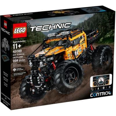 樂高LEGO 科技系列 - LT42099 RC X-treme 遙控越野車