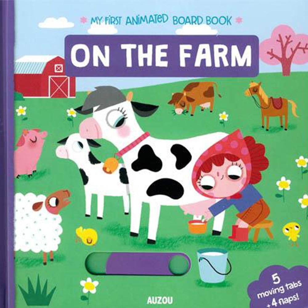 My First Animated Board Book:On The Farm