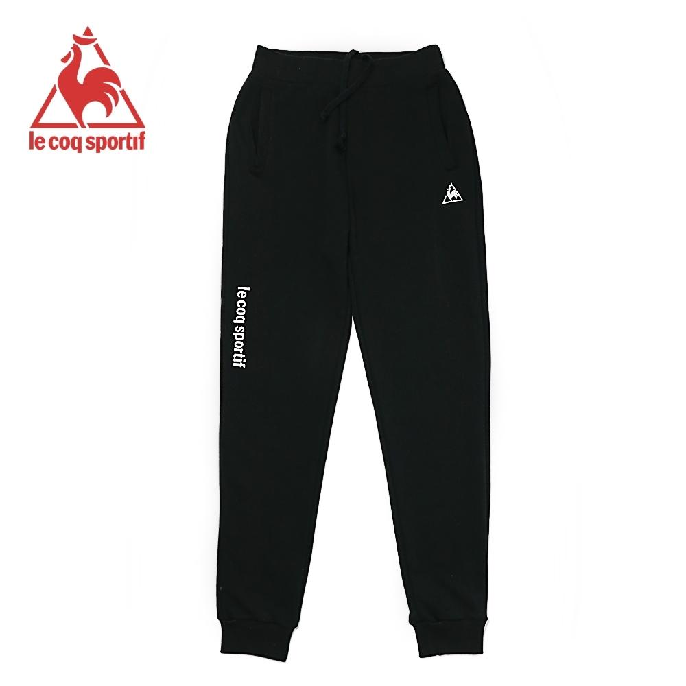 法國公雞牌運動長褲 LWK8340199-男-黑